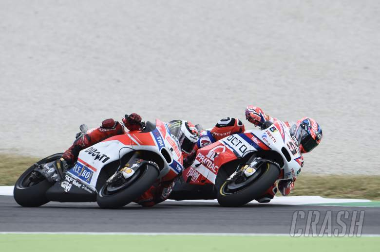 MotoGP: Petrucci: Lorenzo 'target' helped me to front row