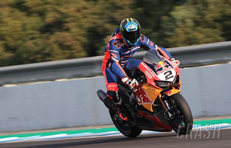 World Superbikes: Leon Camier, Red Bull Honda,
