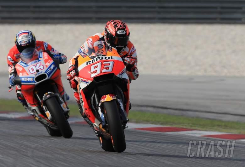 MotoGP: Marc Marquez, Andrea Dovizioso