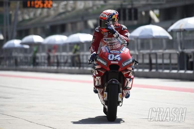 MotoGP: Andrea Dovizioso, Ducati,