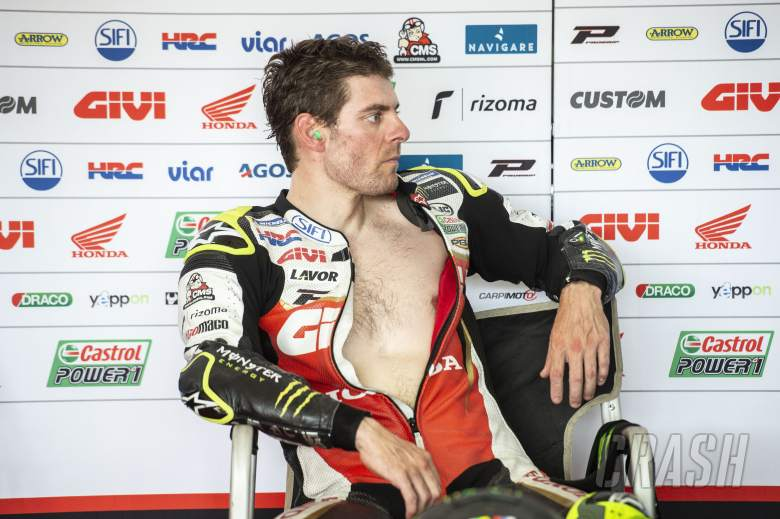 MotoGP: Crutchlow 'learning to ride again' in injury return