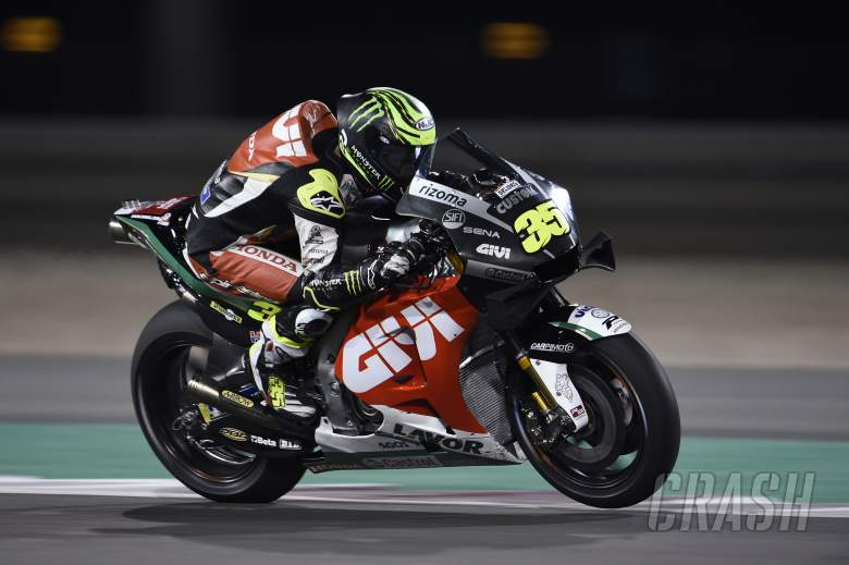 MotoGP: Crutchlow: The front was our weapon