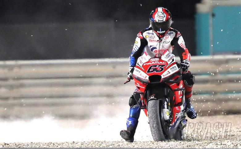'Impossible' - broken wing sinks Bagnaia's MotoGP debut