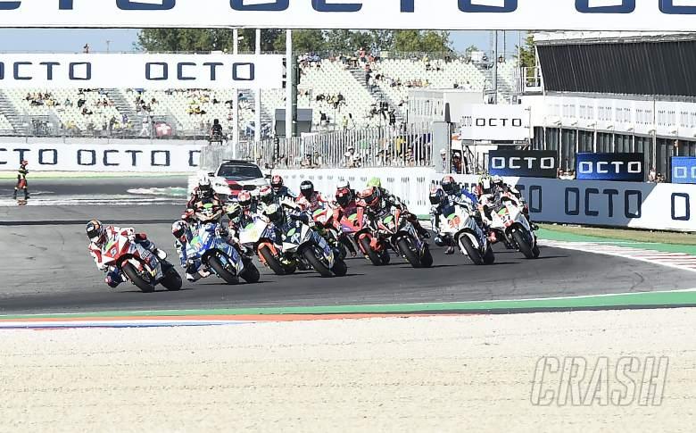 MotoE, race start, Misano,