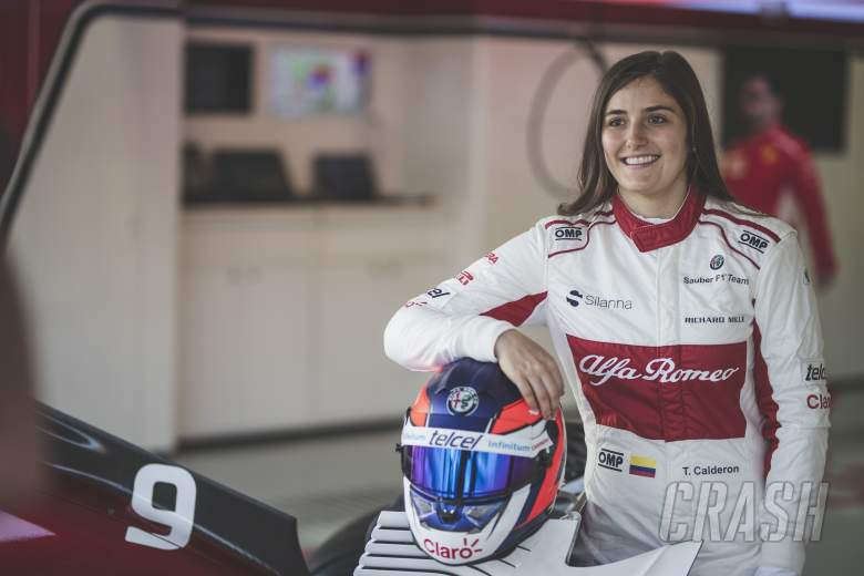 F1: How Calderon continues to crack motorsport's glass ceiling