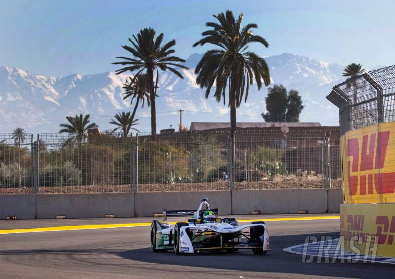 Formula-E: Marrakesh E-Prix - Free Practice Results (1)