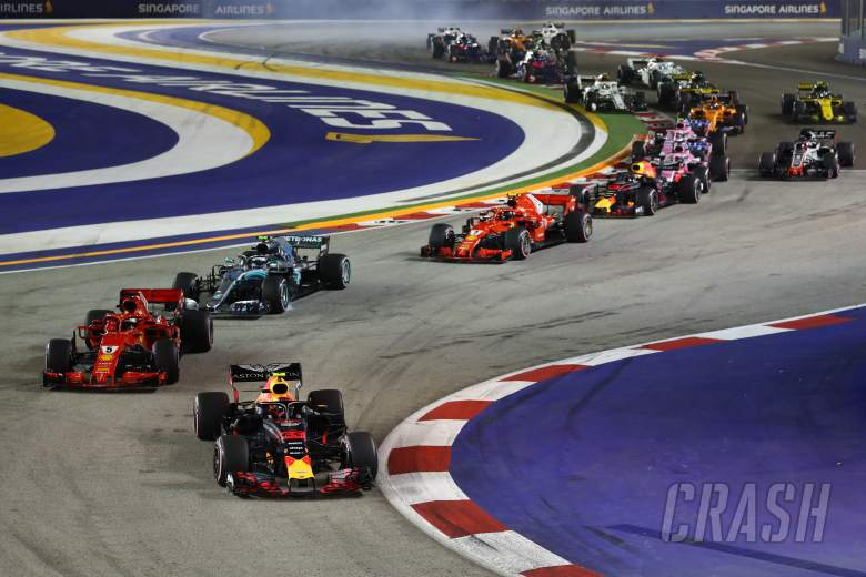 F1: F1 Singapore GP - Race Results