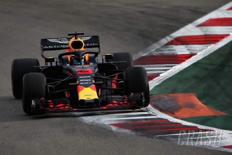 F1: Ricciardo: Red Bull's Russia pace a pleasant surprise