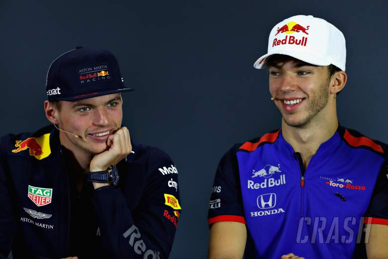F1: Verstappen wants to keep Red Bull's 'good atmosphere' with Gasly