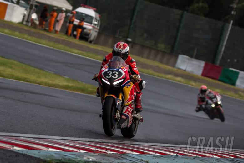 World Superbikes: PJ Jacobsen, Red Bull Honda, Suzuka,