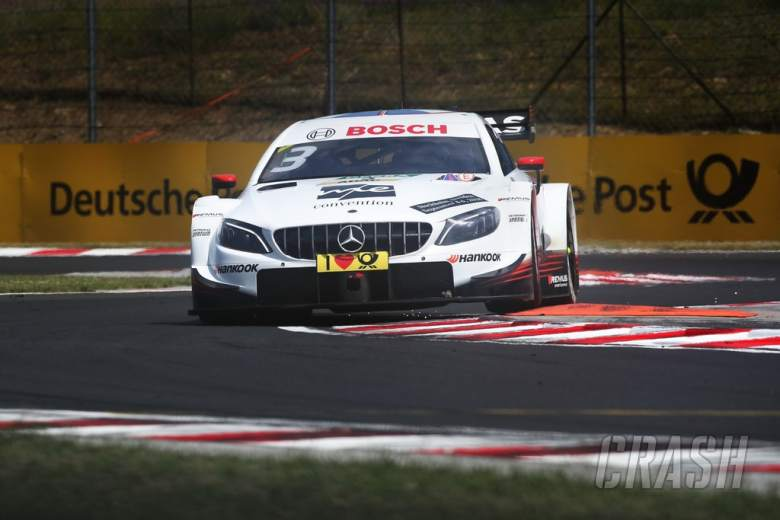 DTM: Di Resta leads Mercedes 1-2 in opening Hungarian race