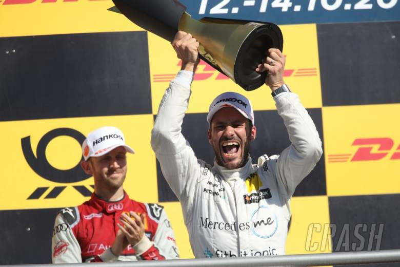 DTM: Paffett: This is the best day in my life