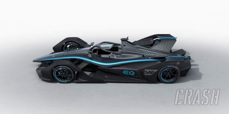 Formula E: Mercedes unveils first Formula E car