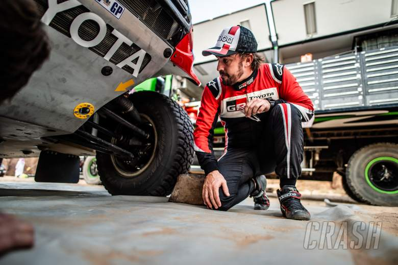 Alonso continues Dakar preparations with Saudi Arabia rally