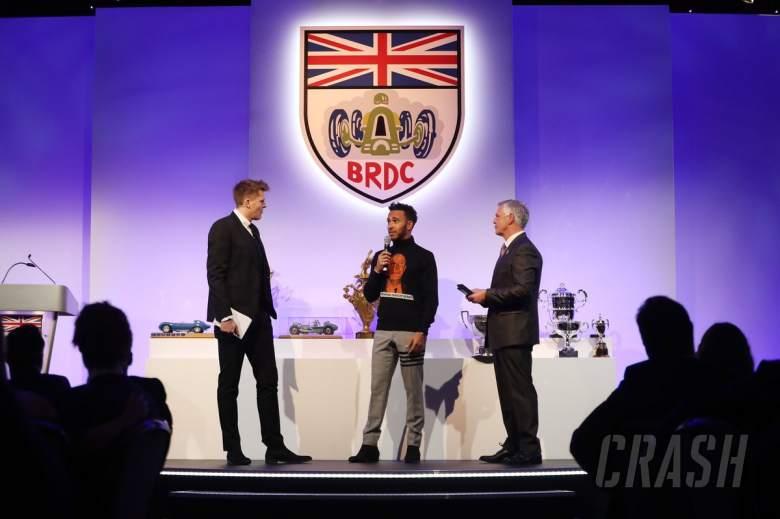 F1: Racing stars honoured at London award ceremonies