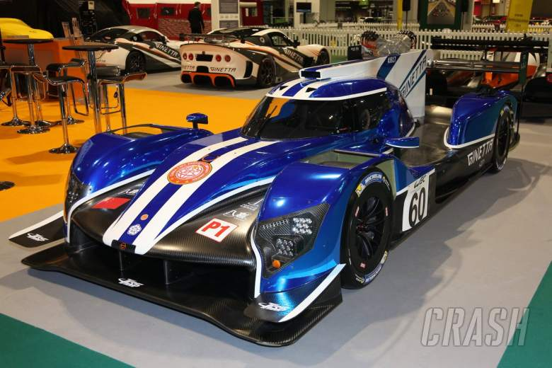 Sportscars: Ginetta unveils new LMP1 car ahead of WEC debut