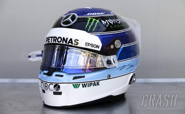 F1: Bottas to use Hakkinen-inspired helmet at Monaco GP