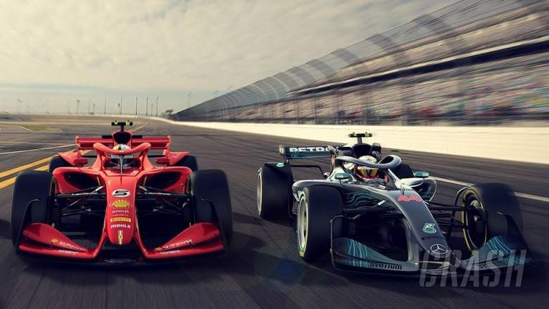 F1: F1 reveals concept car designs for 2021