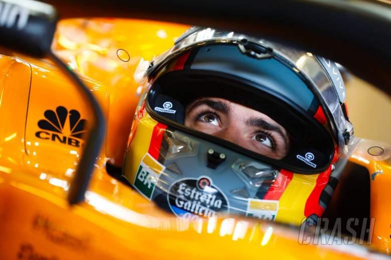 Sainz relishing new-found F1 independence at McLaren