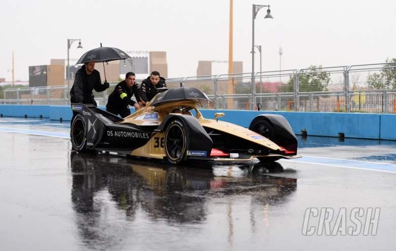 Formula E: Heavy rain cancels both Ad Diriyah E-Prix practice sessions