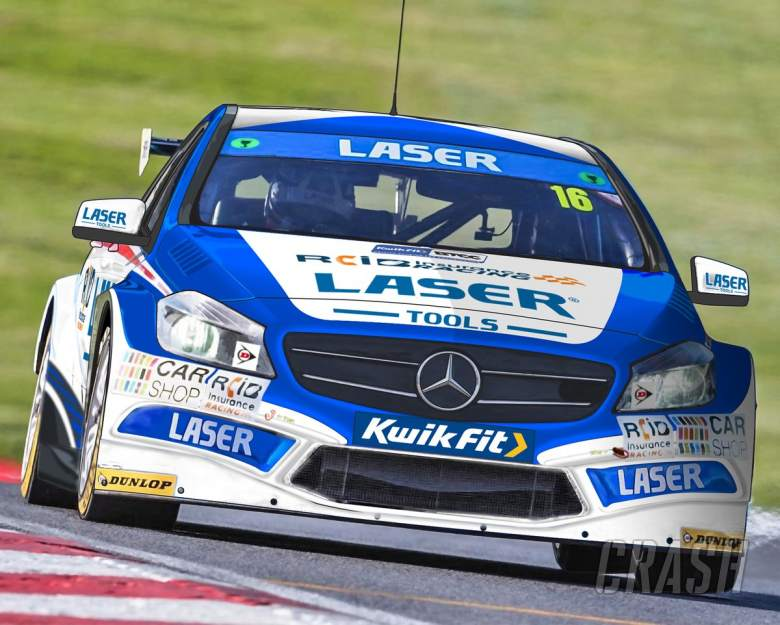 BTCC: Laser Tools Racing confirms independent BTCC entry with Moffat
