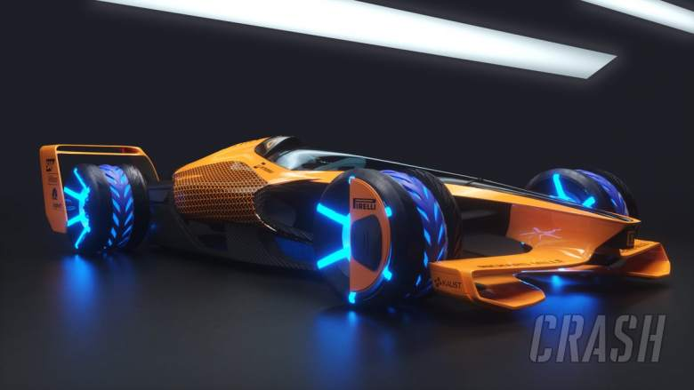 McLaren outlines vision for all-electric F1 in 2050