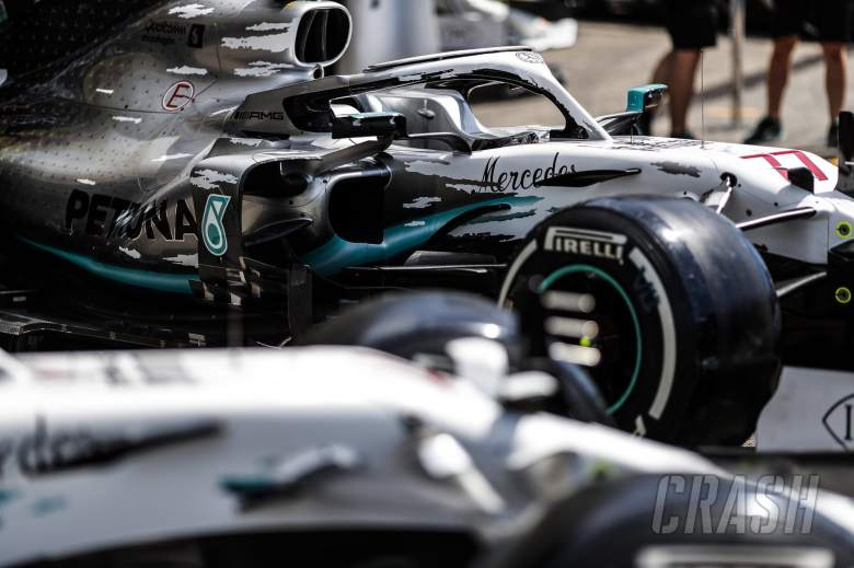 Mercedes reveal special white F1 car livery for German Grand