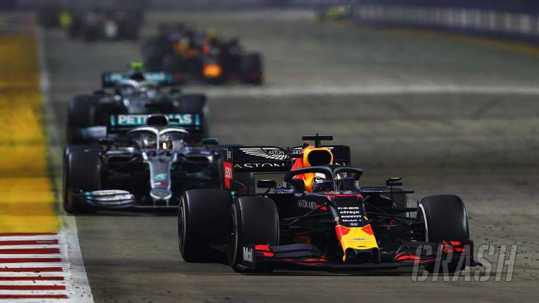 "Verstappen says Singapore GP a ""wake-up call"" for Red Bull"