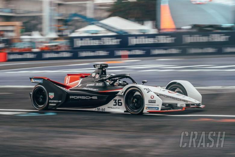 Lotterer claims Porsche's first Formula E pole