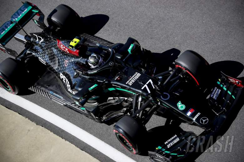 Bottas fastest in first practice for F1's 70th Anniversary GP