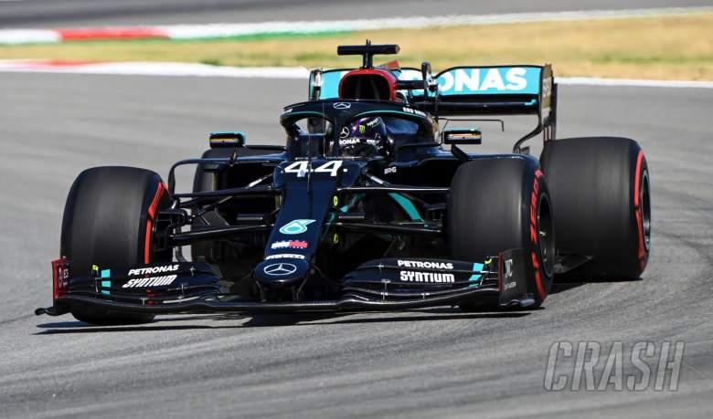 Hamilton tops F1 Spanish GP final practice, Verstappen closes in