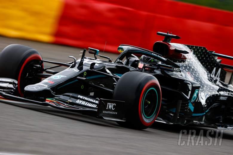 Hamilton blitzes Spa lap record for F1 Belgian GP pole