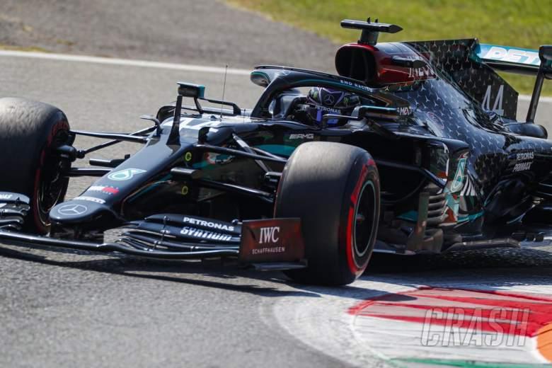 Hamilton claims Italian GP pole with fastest F1 lap ever
