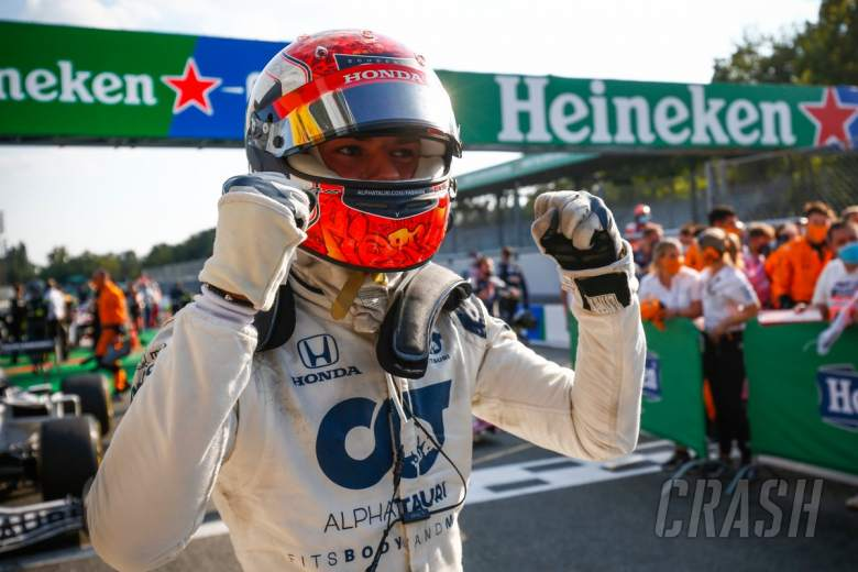 Gasly takes stunning maiden F1 win in crazy Italian GP