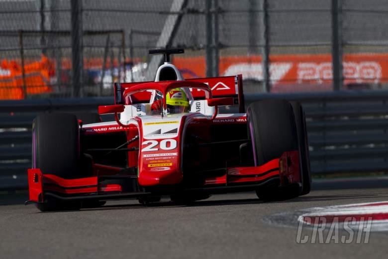 Mick Schumacher beats Yuki Tsunoda in Sochi F2 opener