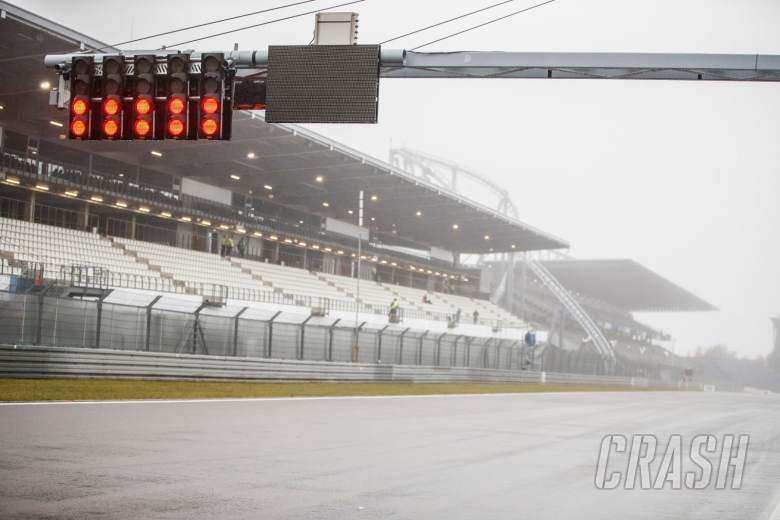 First practice for F1's Eifel GP cancelled due to poor weather