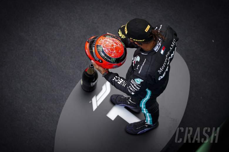 "Hamilton never imagined getting ""anywhere near"" Schumacher's F1 win record"