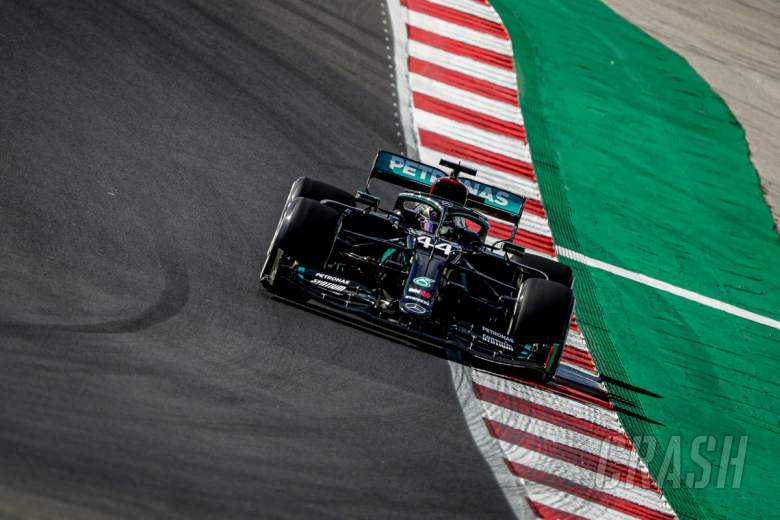 Hamilton snatches last-gasp pole to deny Bottas at F1 Portuguese GP