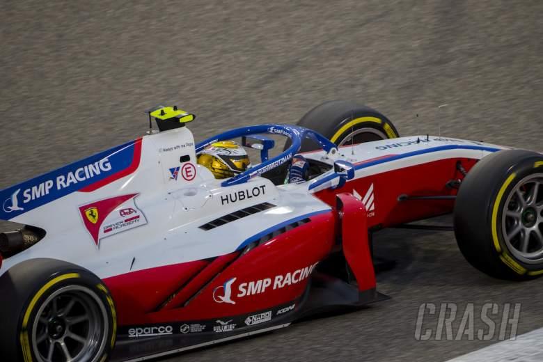 FIA Formula 2 2020 - Sakhir - Full Qualifying Results