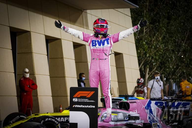 The top 10 F1 drivers of the 2020 season: 3 - SERGIO PEREZ