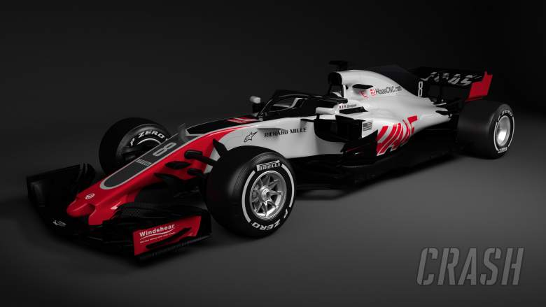 F1: Haas becomes first F1 team to reveal 2018 car