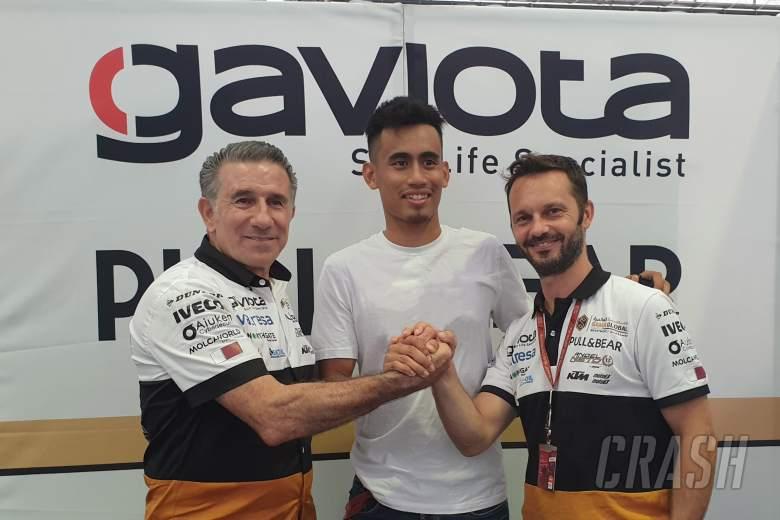 Hafizh Syahrin, Angel Nieto, Moto2,