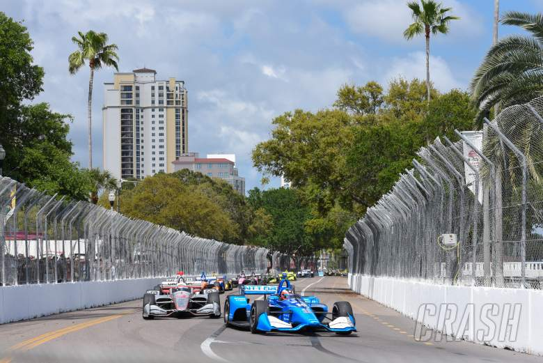 IndyCar: Rosenqvist soldiers to fourth in solid IndyCar debut