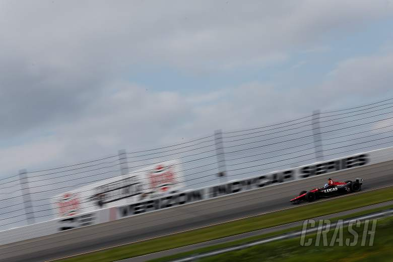 Wickens 'awake and alert' after Pocono IndyCar crash