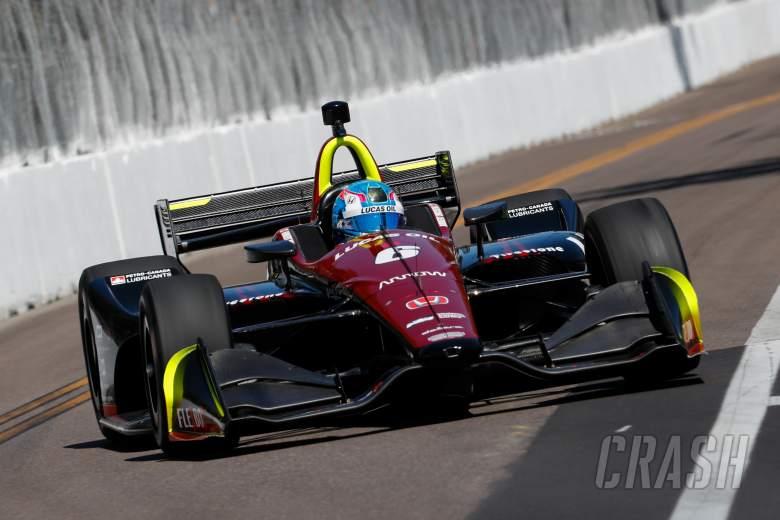 IndyCar: Wickens takes debut IndyCar pole at St. Petersburg