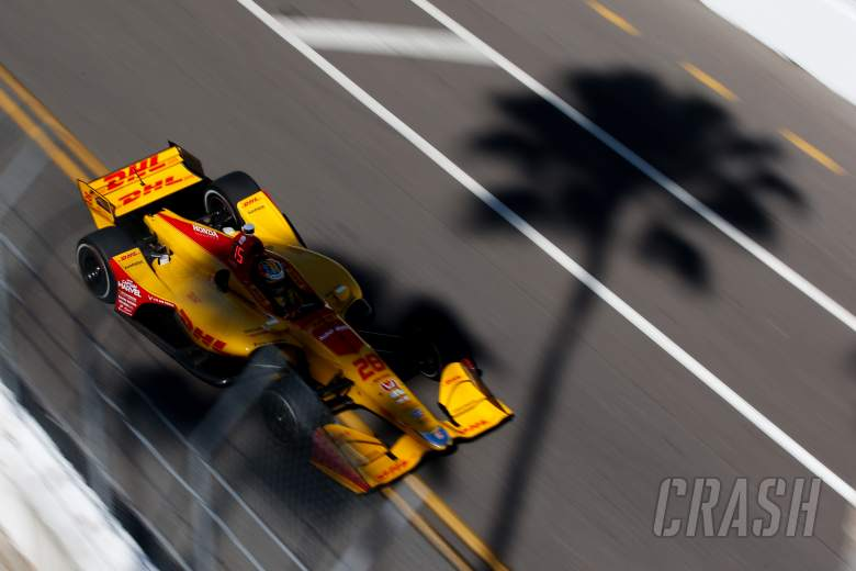 IndyCar: Ryan Hunter-Reay continues to show muscle in final practice