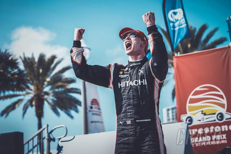 IndyCar: Newgarden fights through to St. Petersburg IndyCar victory
