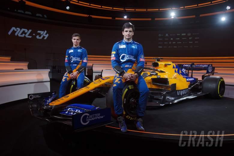 F1: Carlos Sainz, Lando Norris, McLaren, MCL34,