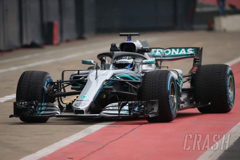 F1: Mercedes W09 F1 car makes track debut at Silverstone