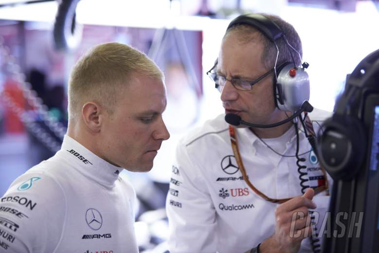 F1: Bottas' F1 race engineer to join Mercedes FE programme